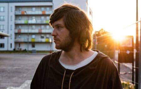 Rasmus Arvidsson från bandet Avantgardet